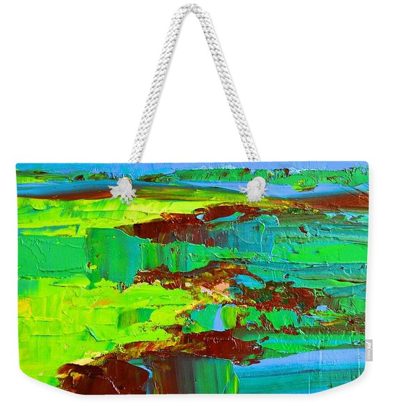 Abstract Landscape No 10 Weekender Tote Bag