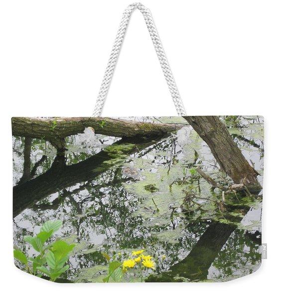 Abstract Nature 2 Weekender Tote Bag