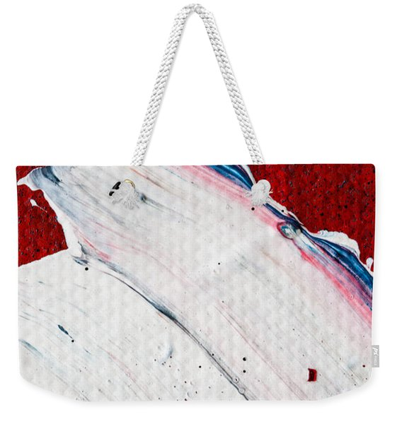 Abstract Original Artwork One Hundred Phoenixes Untitled Number Nine Weekender Tote Bag
