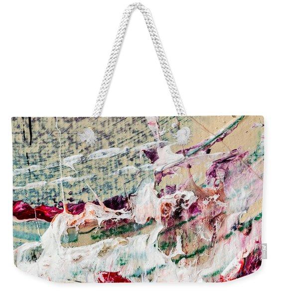 Abstract Original Painting Number Eight Weekender Tote Bag