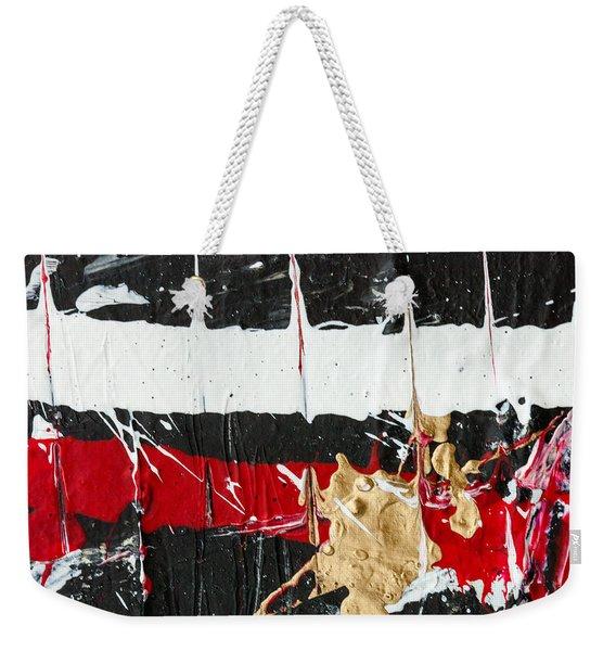 Abstract Original Painting Number Five Weekender Tote Bag