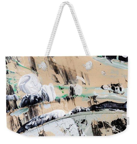 Abstract Original Painting Number Seven  Weekender Tote Bag