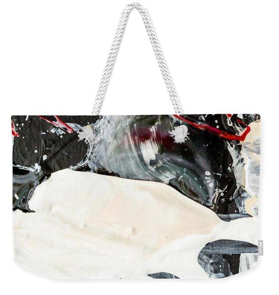 Abstract Original Painting Number Three Weekender Tote Bag