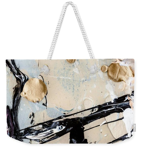 Abstract Original Painting Untitled Twelve Weekender Tote Bag