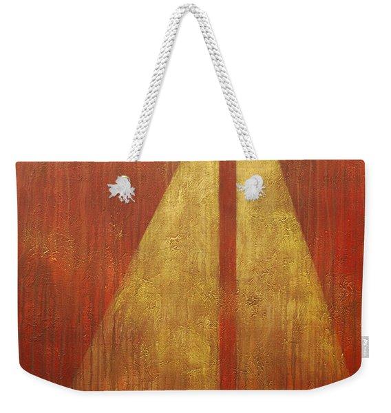 Abstract Sail Weekender Tote Bag