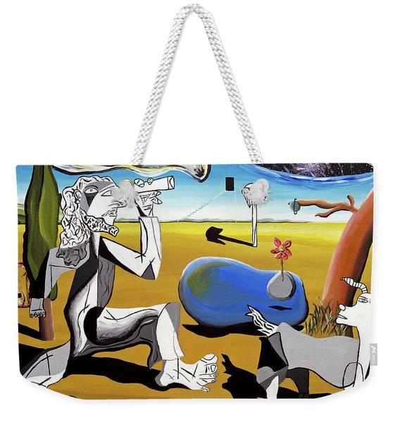 Abstract Surrealism Weekender Tote Bag