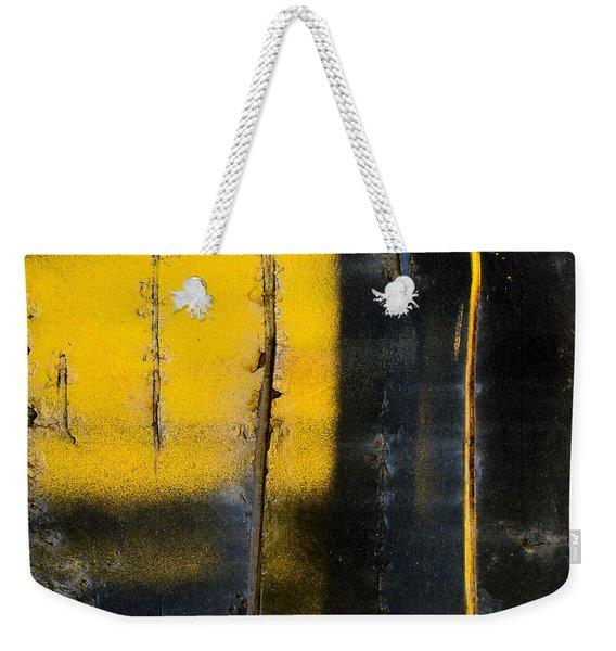 Abstract Train Art Weekender Tote Bag