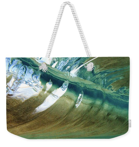 Abstract Underwater 2 Weekender Tote Bag