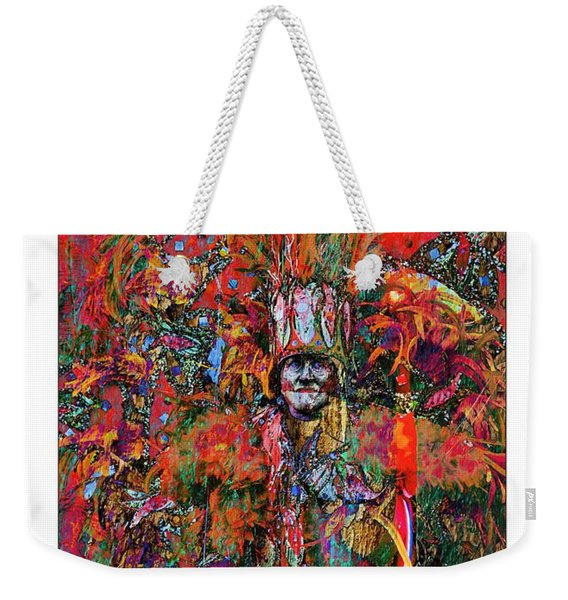Abstracted Mummer Weekender Tote Bag