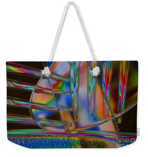 Abstraction In Color 1 Weekender Tote Bag