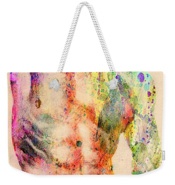 Abstractiv Body  Weekender Tote Bag
