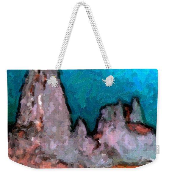 Acid Lake Weekender Tote Bag