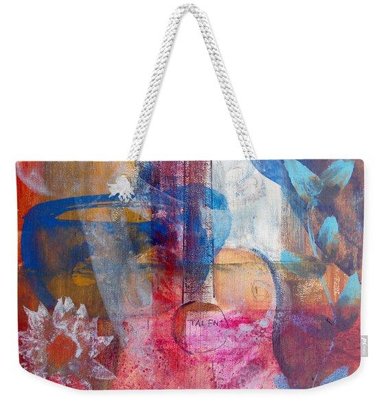 Acoustic Cafe Weekender Tote Bag
