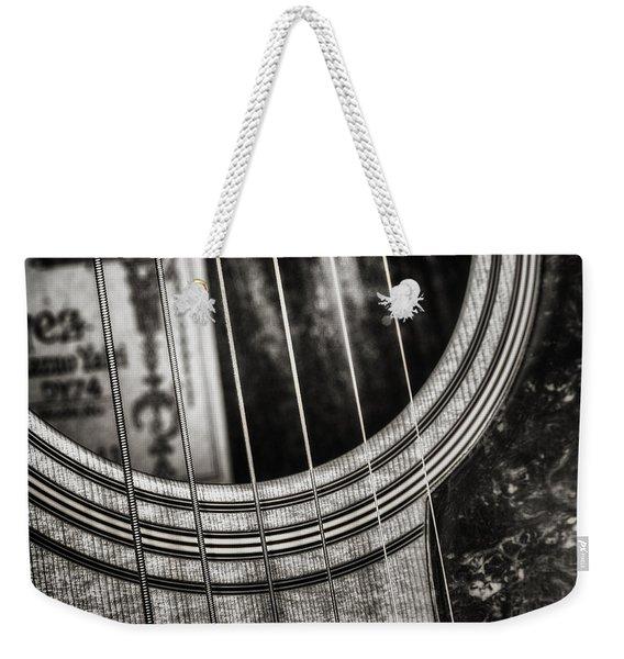 Acoustically Speaking Weekender Tote Bag