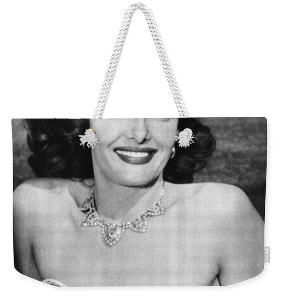 Actress Jane Russell Weekender Tote Bag