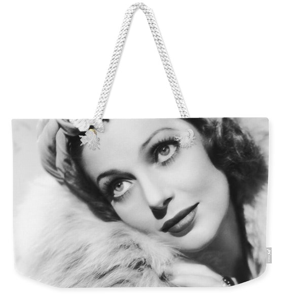 Actress Loretta Young Weekender Tote Bag