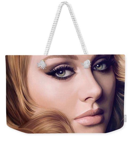 Adele Artwork  Weekender Tote Bag
