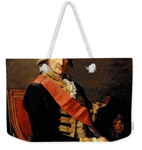Admiral George Brydges Rodney Weekender Tote Bag