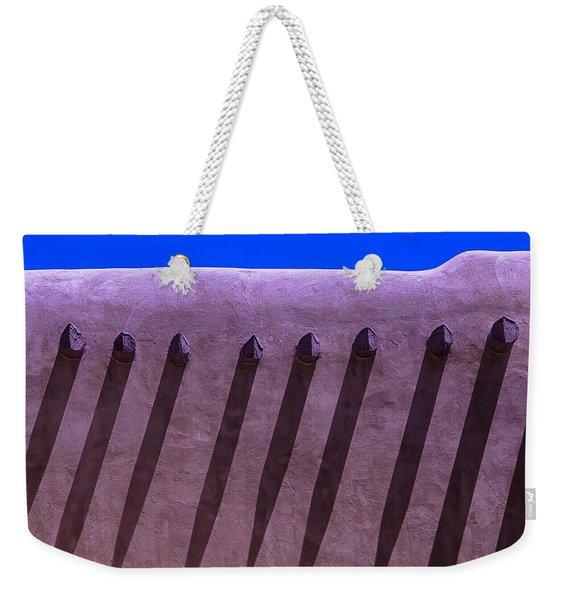 Adobe Wall Shadows Weekender Tote Bag