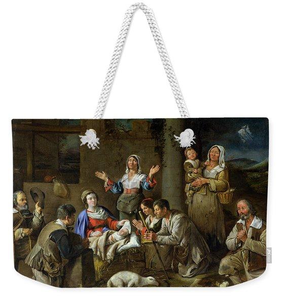 Adoration Of The Shepherds Weekender Tote Bag