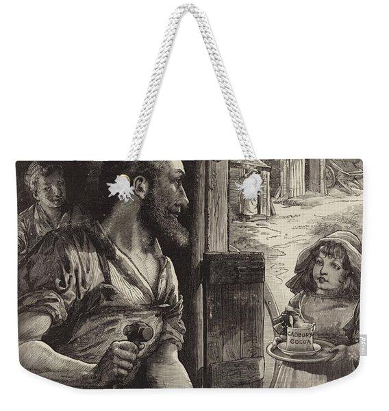Advertisement For Cadburys Drinking Cocoa Weekender Tote Bag