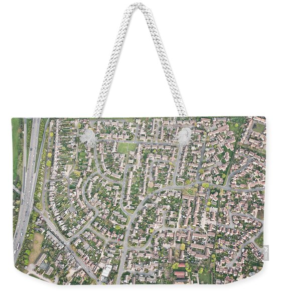 Aerial View  Weekender Tote Bag