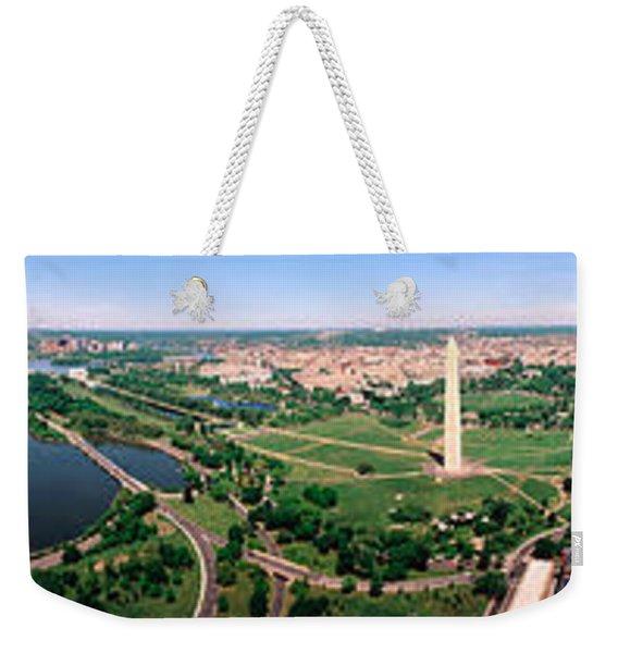 Aerial Washington Dc Usa Weekender Tote Bag