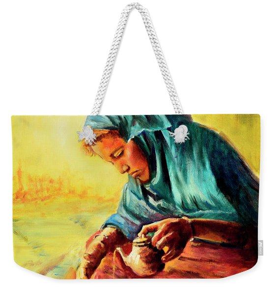 African Chai Tea Lady. Weekender Tote Bag