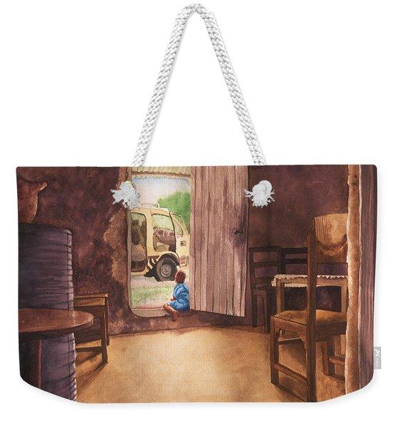 African Child's Dream Weekender Tote Bag