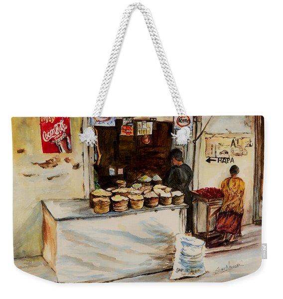 African Corner Store Weekender Tote Bag