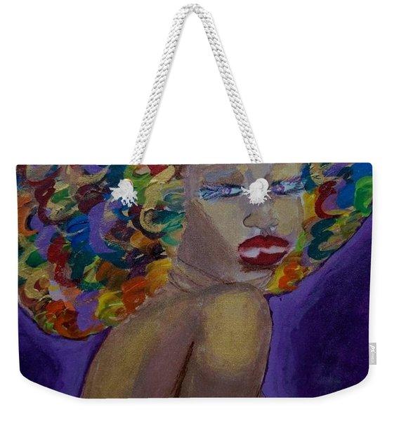Afro-chic Weekender Tote Bag