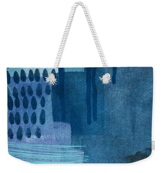 After Rain- Contemporary Abstract Painting  Weekender Tote Bag
