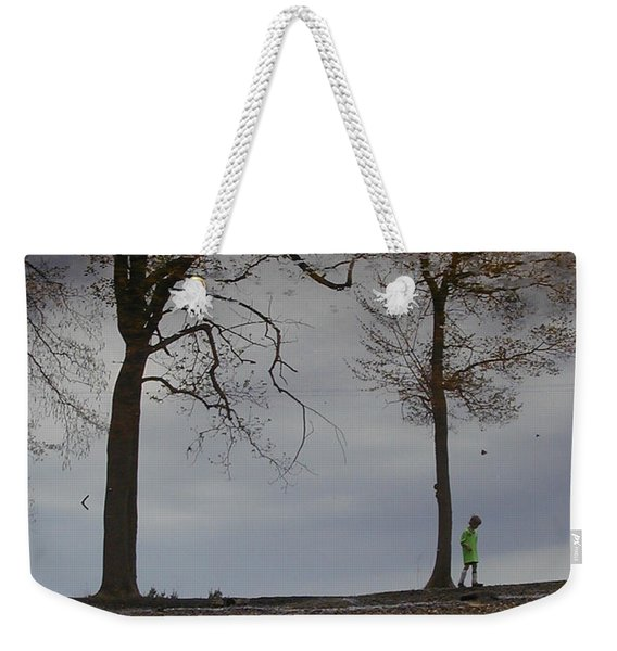 After Soccer By The Pond Weekender Tote Bag