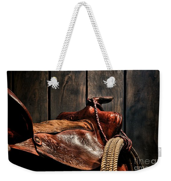After The Round Up Weekender Tote Bag