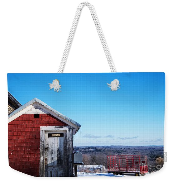 After The Storm Passes Weekender Tote Bag