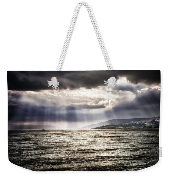 After The Storm Sea Of Galilee Israel Weekender Tote Bag