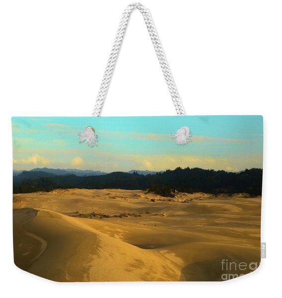 Afternoon At Oregon Dunes Weekender Tote Bag