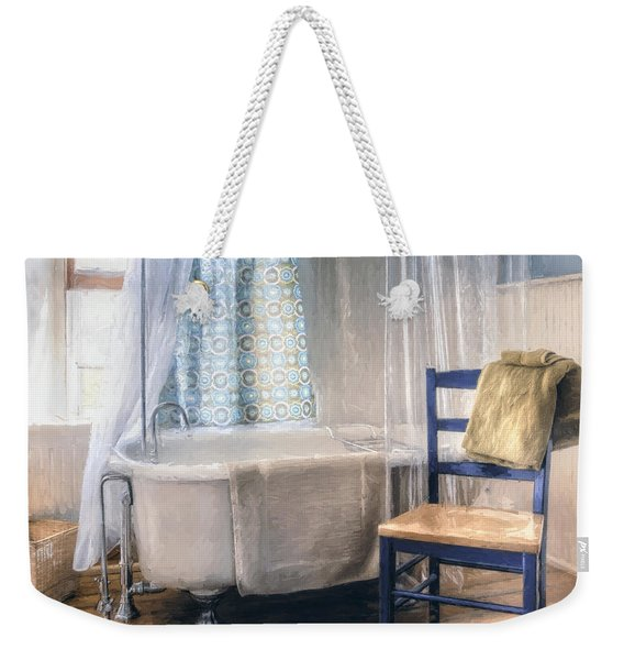 Afternoon Bath Weekender Tote Bag