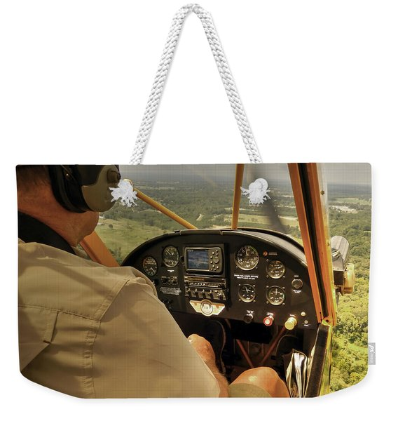 Afternoon In A J3 Cub Weekender Tote Bag