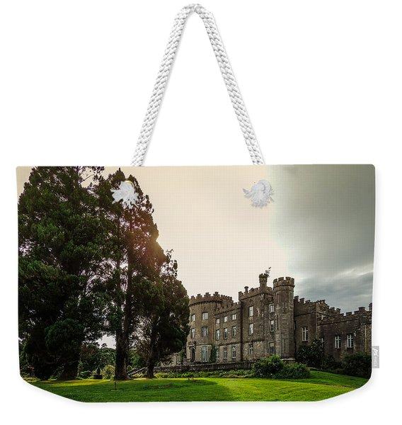 Afternoon Sun Over Markree Castle Weekender Tote Bag
