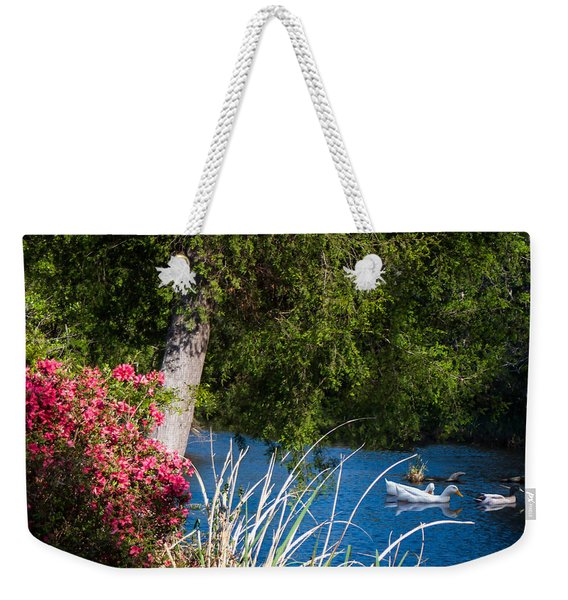 Afternoon Swim Weekender Tote Bag