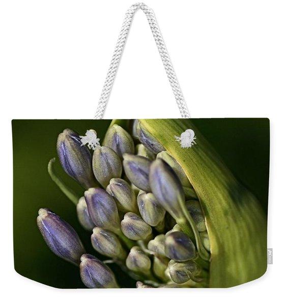 Agapanthus Weekender Tote Bag