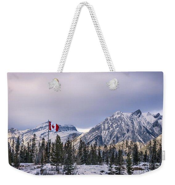 Ageless Northern Spirit Weekender Tote Bag