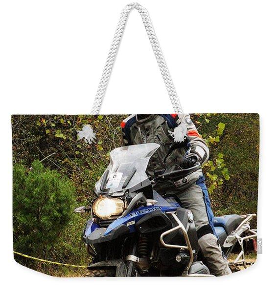 Agressive Weekender Tote Bag
