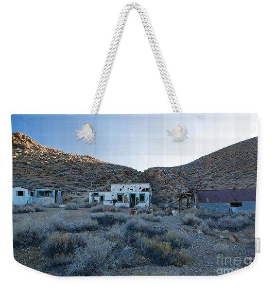 Aguereberry Camp Death Valley National Park Weekender Tote Bag
