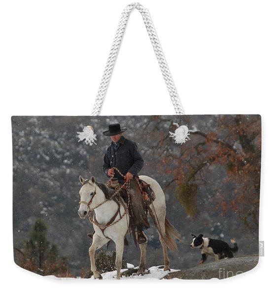 Ahwahnee Cowboy Weekender Tote Bag