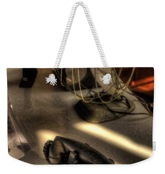 Air Conditioned Office  Weekender Tote Bag