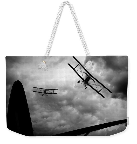 Air Pursuit Weekender Tote Bag