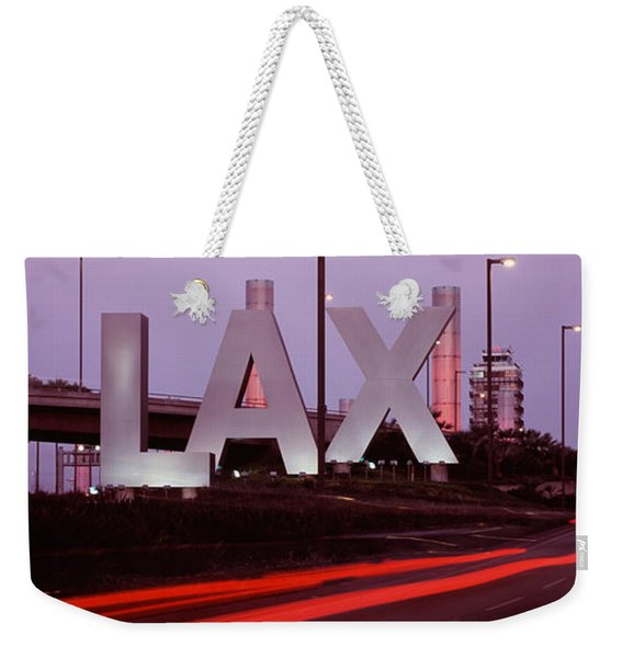 Airport At Dusk, Los Angeles Weekender Tote Bag