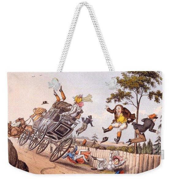 Airy Nothings, Or Scraps And Naughts Weekender Tote Bag